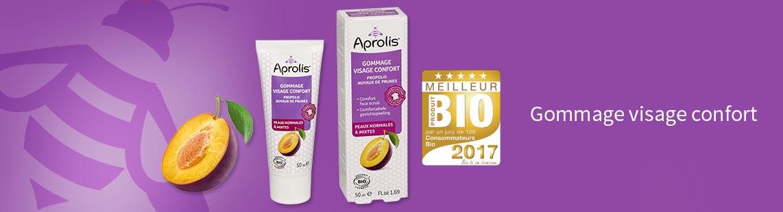 Meilleur Produit Bio 2017 – Gommage Visage Confort Aprolis