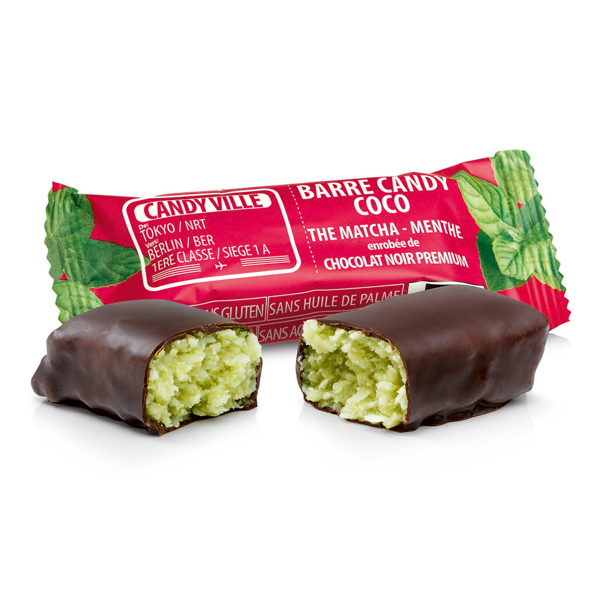 Barre Candy Coco-Matcha-Menthe 50g