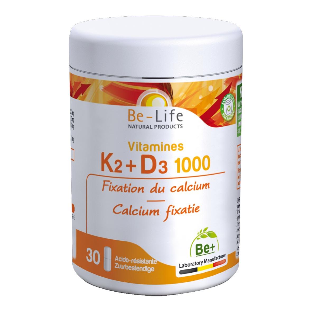 Vitamine K2-D3 1000 30 gélules