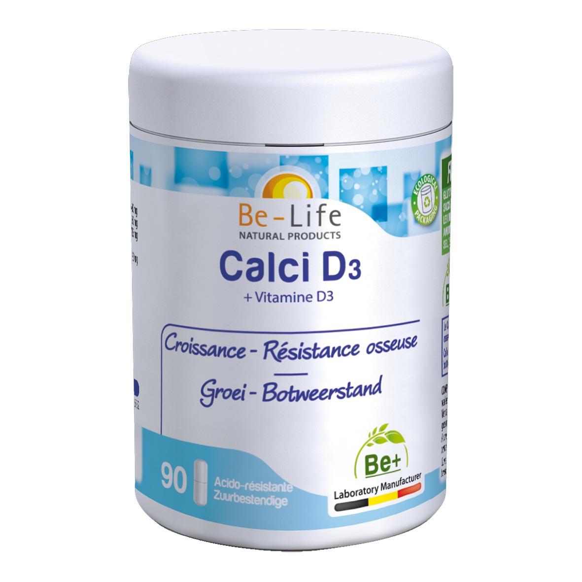 Calci D3 90 gélules