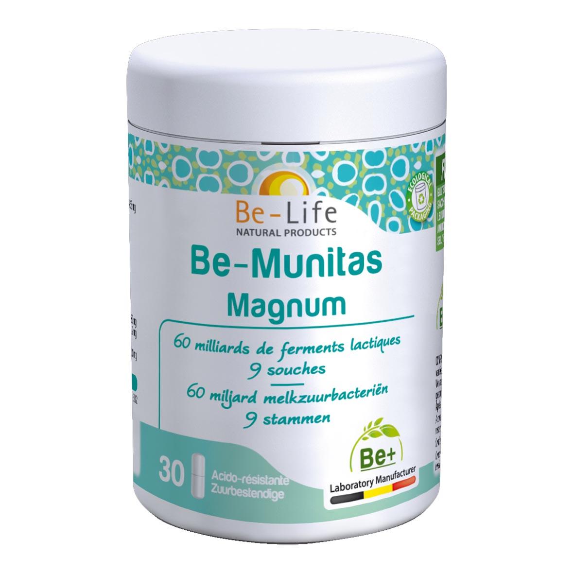 Be-Munitas Magnum 30 gélules